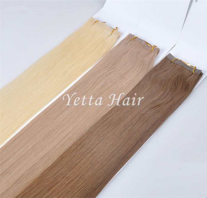 Multi Colored Unprocessed Pre Bonded Hair Extensions With Blonde Yellow