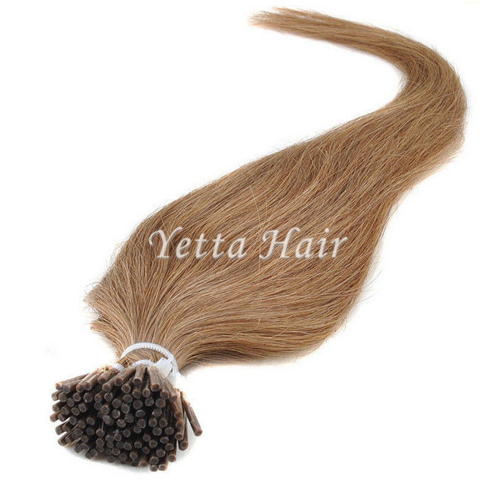 Full Cuticle Double Drawn Pre Bonded Hair Extensions No Foul Odor