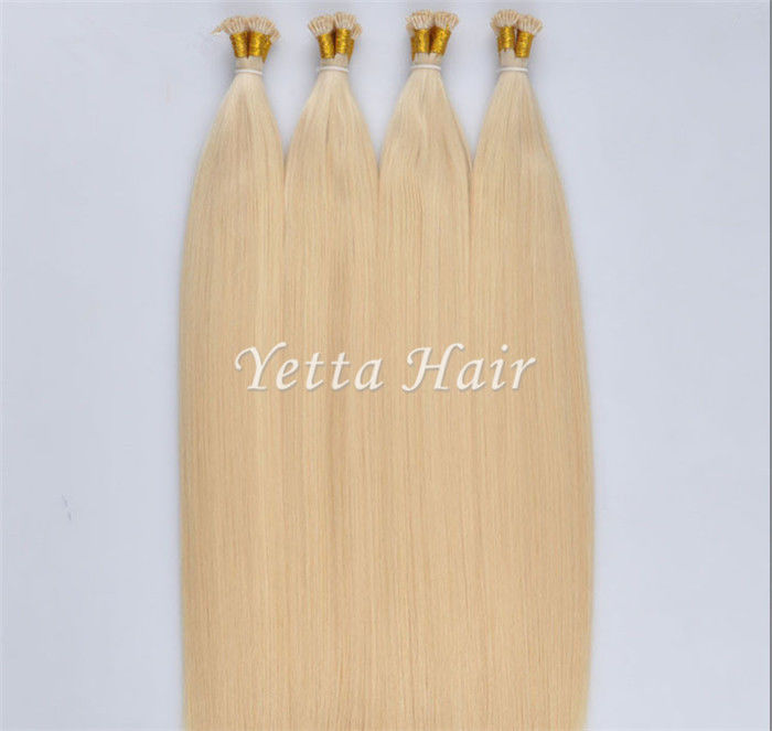 Grade 6A Keratin Dip Dye Pre Bonded Hair Extensions With Silky Straight