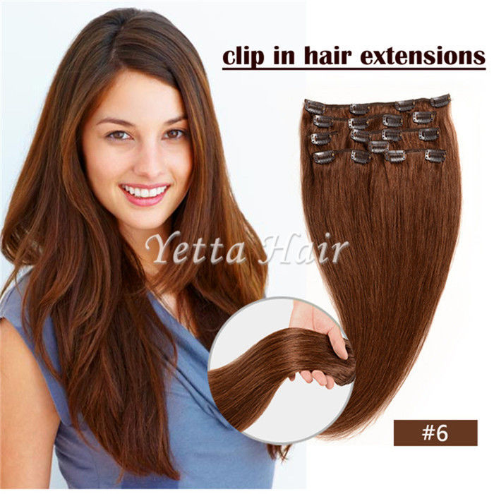 Simplicity Pre Bonded Keratin Hair Extensions / Clip In Hair Weave Color 6#