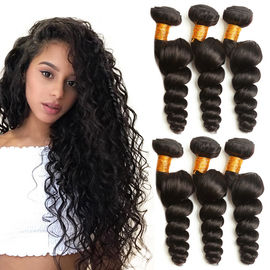 100 gramów Virgin Human Hair Extensions Natural Color 2 Years Service Life